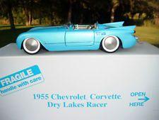 Danbury Mint 1955 Chevrolet Corvette Dry Lakes Racer Diecast 1:24 MIB