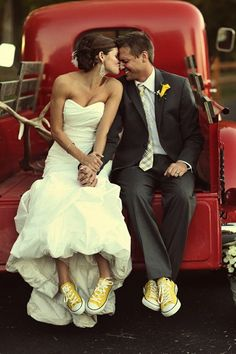 Love this photo, but not the yellow shoes.  I would use a different color.  I hate the color yellow.