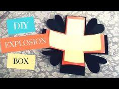 Kunsthandwerk: Explodieren Box Tutorial! (Basic) Wie ein Explodieren BoxCard zu machen - YouTube