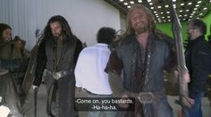 Thorin so handsome Rr Tolkien, Tolkien Books, The Hobbit Movies, O Hobbit, Richard Armitage Twitter, Lotr Cast, Dean O'gorman, Concerning Hobbits, Fili And Kili