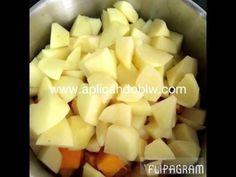 Receta de crema de calabaza con manzana | Aplicando BLW
