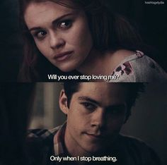 Dylan O'Brien Holland Roden  on We Heart It