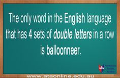 TESOL ESL [ English Facts ] Balloonneer