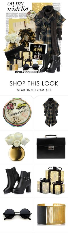 """""""#PolyPresents: Wish List"""" by polybaby ❤ liked on Polyvore featuring Betsey Johnson, Vivienne Westwood Anglomania, LSA International, Prada, Chanel, contestentry and polyPresents"""