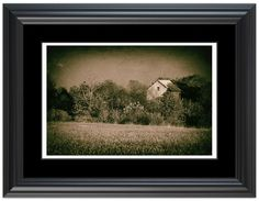 """11"""" x 14"""" Traditional Photography Prints / Wall Décor Landscape Photograph: Abandoned Barn In The Trees - Vintage . View all of the stunning Landscape Photos by Nature and Landscape Photographer Melissa Fague at:  https://www.etsy.com/shop/PIPAFineart Limited Edition Fine Art landscape photography prints and canvas wraps are also available in a variety of sizes."""