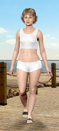 Personalized Visual Body Morph--Model My Diet--kind of neat!