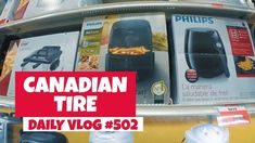 Compras no Canadá: Canadian Tire | DAILY VLOG #502 https://youtu.be/lY4XN7LlaHE