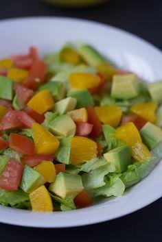 Mozambican Avocado Salad (Salada De Pera Abacate)