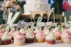 Obsessed with these #cupcakes! {Matthew Nigel Photography}