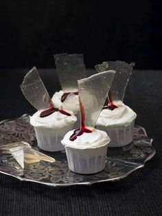 Blood-and-Gore Baking - Lily Vanilli Zombie Cupcakes Will Be Hitting Harrods for Halloween (GALLERY)