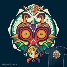 A Terrible Fate #dannyhaas #gaming #link #majorasmask #moon #thelegendofzelda #videogame