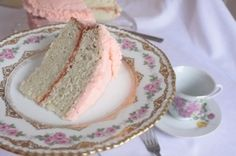 Amazing Pink Champagne Cake Recipe ~ perfect for my birthday ~ Yummy Treats, Delicious Desserts, Sweet Treats, Yummy Food, Tasty, Cupcake Recipes, Cupcake Cakes, Dessert Recipes, Cupcakes