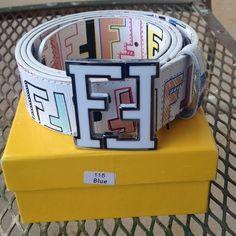 New FENDI belt Brand new still in the box authentic FENDI belt. It's never been worn. I need gone ASAP. I still have receipt. I need my car fixed so I need money. FENDI Accessories Belts