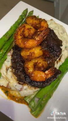 Seafood Recipes, Beef Recipes, Cooking Recipes, I Love Food, Good Food, Yummy Food, Tasty, Comida Diy, Food Goals