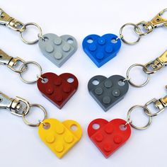 LEGO ® Love Heart Keyring Pendant (We receive commissions for purchases made through this link. Valentines Day Hearts, Valentine Heart, Boyfriend Best Friend, Lego Wedding, Lego Gifts, Heart Keyring, Friend Friendship, Lego Projects, Crafts To Do