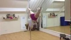 Nicole's tribute to Oona K pole position scotland pole dancing awesome spin static pole pole fitness pole dance Dundee