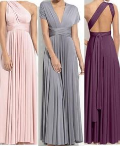 Convertible Dresses! Get sophisticated without going outside your smart budget!