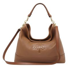 Mulberry - Effie East West Hobo in Oak Spongy Pebbled Pebbled Leather, Leather Bag, Mulberry Purse, Best Handbags, Classic Leather, Purses, Shoe Bag, Lust, Women