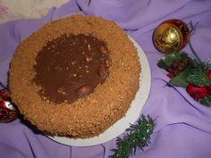 Медово-шоколадный торт