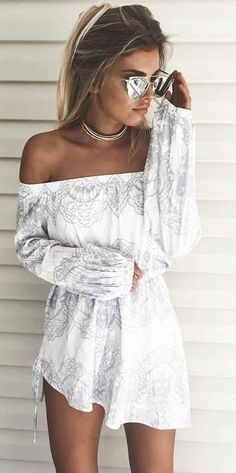 Pastel Print Little Dress                                                                             Source