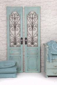 Antieke witte louvre deuren luiken zeer fraaie antieke witte louvre deuren luiken met - Meubels keukenraam ...
