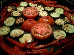 Asando verduras