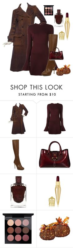 """""""Fall Colors"""" by kotnourka ❤ liked on Polyvore featuring Chanel, McQ by Alexander McQueen, Jimmy Choo, Hogan, Christian Louboutin, MAC Cosmetics and Improvements"""