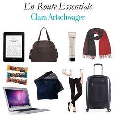 Travel essentials >> http://www.hithaonthego.com/en-route-with-clara-artschwager/