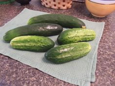how to pickle: fresh cucumbers