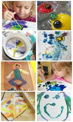 11 Favorite Painting Activities for Preschoolers