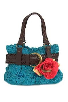 Awesome bag, I would remove the flower though
