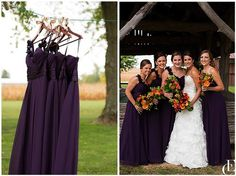 10 HOT WEDDING TRENDS FOR 2014 | Chocolate Box Purple | Bride Meets Wedding | Photo by Emily Crall Photography |
