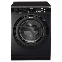 Hotpoint Extra Washing Machine, WMXTF742K, 7KG Load, Black