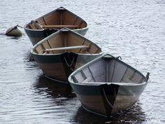 Dories at Lowell's Boat Shop ~ c. Pamela J. Leavey