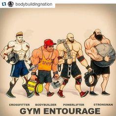 Gym entourage