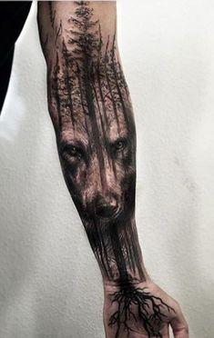 wolf tree #tattoo https://t.co/euARD0GimY Please Re-Pin It!