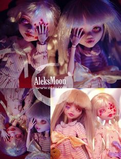 SOLD DISPLAY onlyHard Candy Creepy Candy Series No.2 by AleksMoon