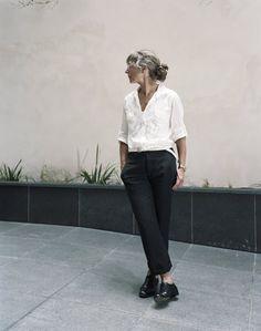 That's Not My Age: Designer Margaret Howell, 66, on older models.