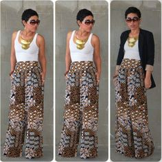 mimi g.: Super Bad DIY Pants Version I love this style pants! So comfy and cute Basic Fashion, Fashion Sewing, Look Fashion, Diy Fashion, Womens Fashion, Mode Style, Style Me, Casual Chic, Casual Wear