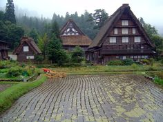 白川郷合掌作り  Shirakawago Gashoudukuri, World Heritage by UNESCO