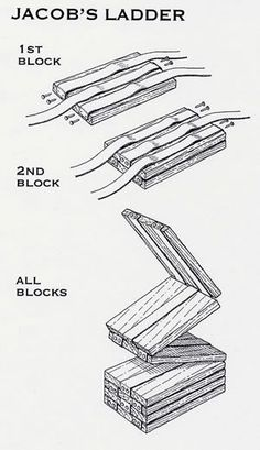 Jacob's Ladder Plans - Woodwork City Free Woodworking Plans