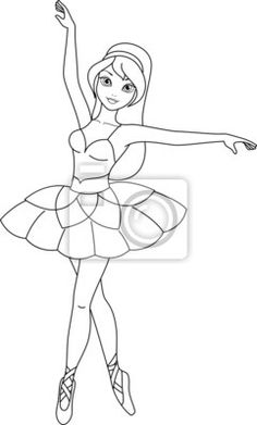 Barbie Coloring Pages Ballerina Coloring Pages, Barbie Coloring Pages, Disney Princess Coloring Pages, Disney Princess Colors, Disney Princess Drawings, Cute Coloring Pages, Coloring Books, Barbie Drawing, Girl Drawing Sketches