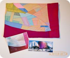 Project Quilting Mini Quilt of the EMP, Seattle