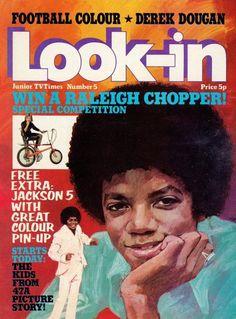 Michael Jackson, Look-in magazine (1974)