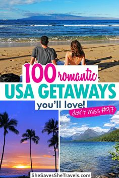 Vacations In The Us, Romantic Vacations, Romantic Getaways, Romantic Travel, Romantic Places, Beautiful Places, Weekend Getaways For Couples, Couples Vacation, Vacation Spots