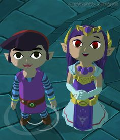 Hypatia's High Res Wind Waker Texture Mod: Photo  Ravio and Hilda! ♥