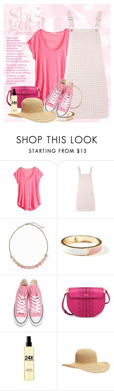 """""""She's Got It!"""" by bb60477 ❤ liked on Polyvore featuring Calypso St. Barth, Topshop, Old Navy, Converse and Sally Hershberger"""