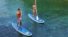Stand Up Paddle Boarding is a great way to explore the waterways of Hatteras Island and so easy that anyone can do it! Caribbean Honeymoon, Caribbean Vacations, Sup Stand Up Paddle, Cliff Diving, Jamaica Vacation, Hatteras Island, Paddle Boarding, Rafting, Hotels And Resorts