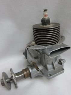1948 OK 29 Hothead ignition model airplane engine.  Serial #64583.