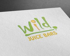 Wild Juice Bar -  Logo Design - Castle Design
